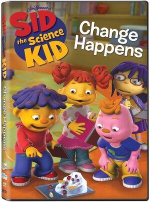 Sid the science kid - Change Happens DVD