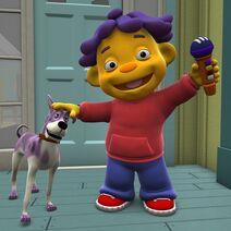 Philbert the dog
