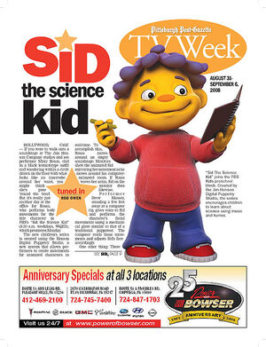 Sid the Science Kid article