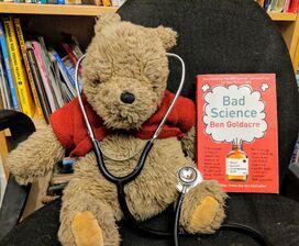 Teddy with stethoscope
