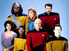 Star Trek - The Next Generation crew