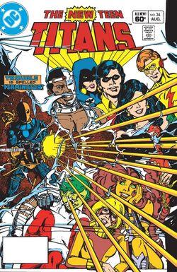 New Teen Titans 34