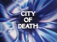 Doctor Who - City of Death (title card)
