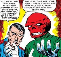Hitler and Red Skull