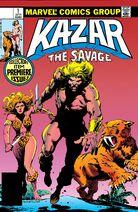 Ka-Zar the Savage 1