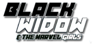 Black Widow and the Marvel Girls logo