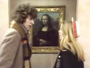 Doctor and Romana at the Louvre
