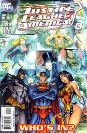 Justice League of America Vol 2 0A