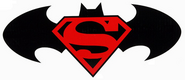 Superman - Batman logo