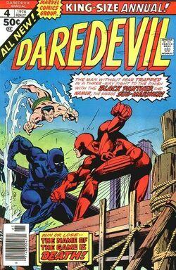 Daredevil Annual 4