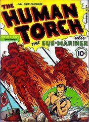 Human Torch Comics 2