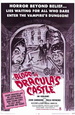 Blood of Dracula's Castle