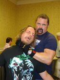 Me and Kane Hodder