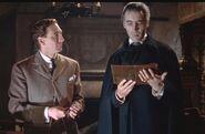 Harker and Dracula (Hammer Horror)