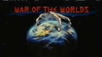 WAR OF THE WORLDS TV Series (1988-90) Advert for Ep 17 UNTO US A CHILD IS BORN. TV Violence