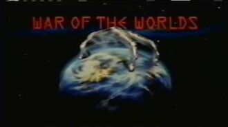 WAR OF THE WORLDS TV Series (1988-90) Advert for Ep 11 AMONG THE PHILISTINES