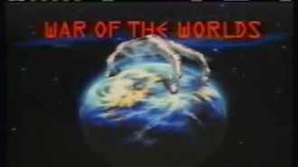 WAR OF THE WORLDS TV Series (1988-90) Ad for Ep 3 THY KINGDOM COME. TV Violence