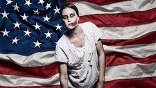 American zombie person