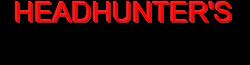 Headhunter's Horror House Wordmark