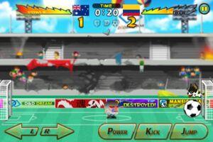 Australia VS Colombia 2