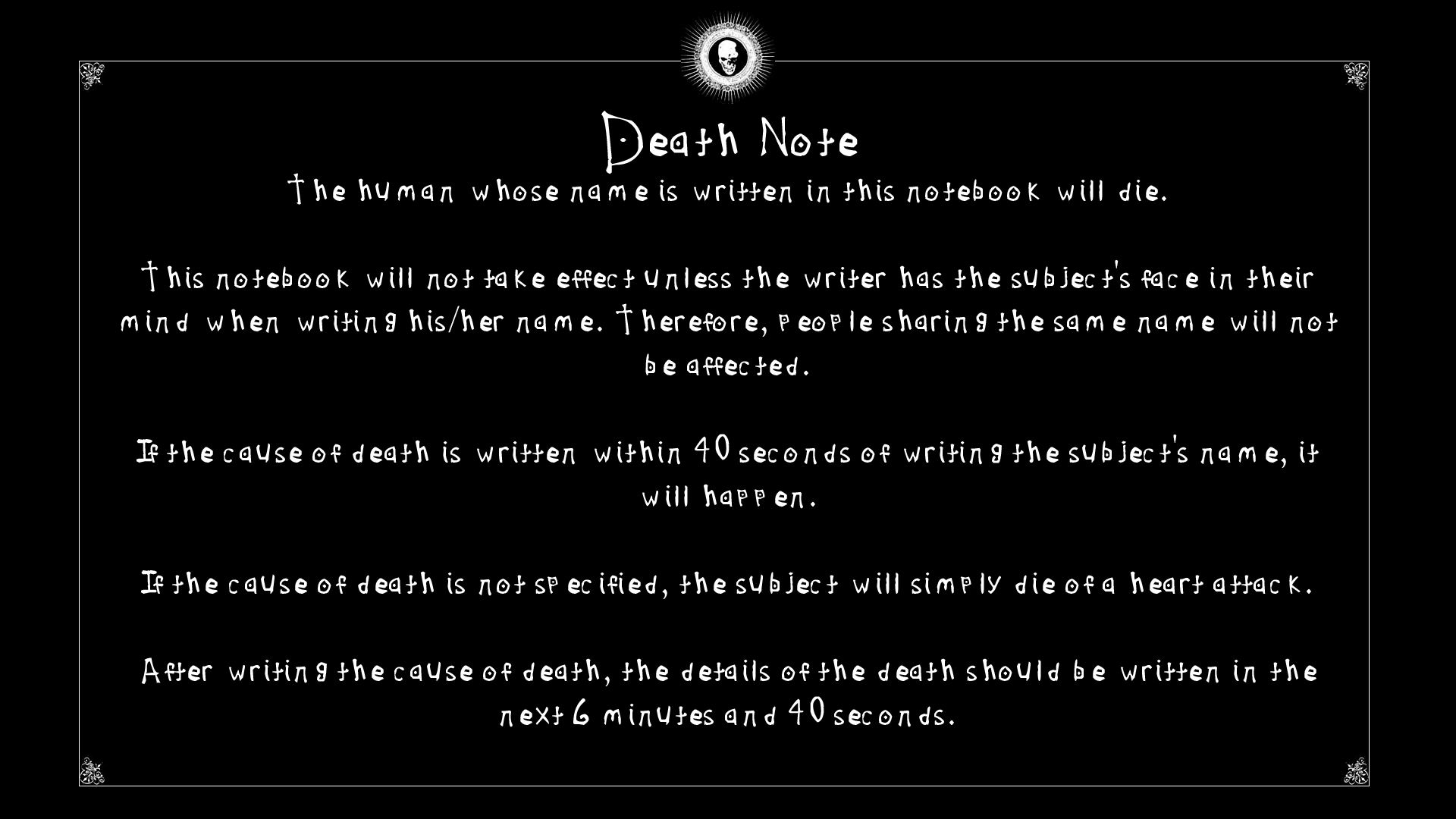 Image death note awesome full hd wallpaper desktopg head death note awesome full hd wallpaper desktopg thecheapjerseys Choice Image