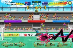 Australia VS Greece 5