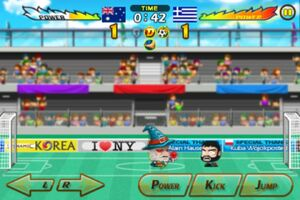 Australia VS Greece 4