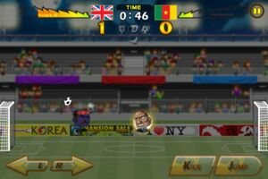 Cameroon VS United Kingdom 2