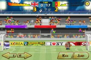 Cameroon VS United Kingdom 6