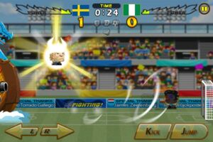 Sweden VS Nigeria 5
