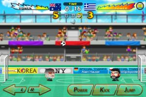 Australia VS Greece 11