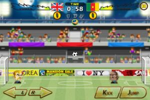 Cameroon VS United Kingdom