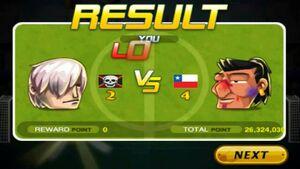 Chile beat Devil