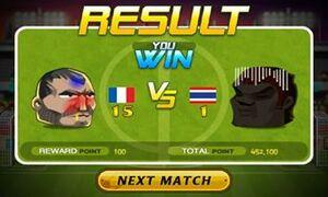 France Beat Thailand