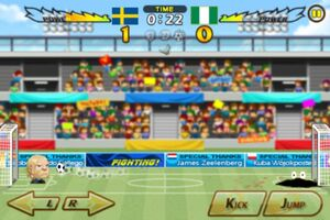 Sweden VS Nigeria 6