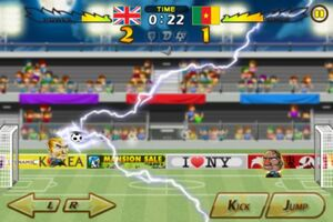 Cameroon VS United Kingdom 5