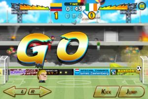 Colombia VS Ireland 5