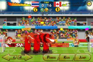 Thailand VS Canada 2