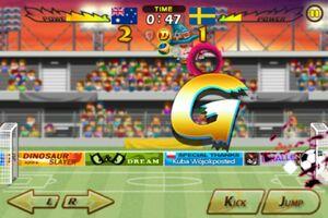 Australia VS Sweden 1