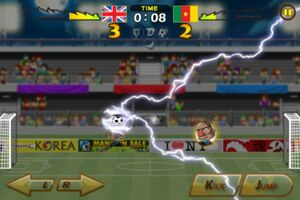 Cameroon VS United Kingdom 7