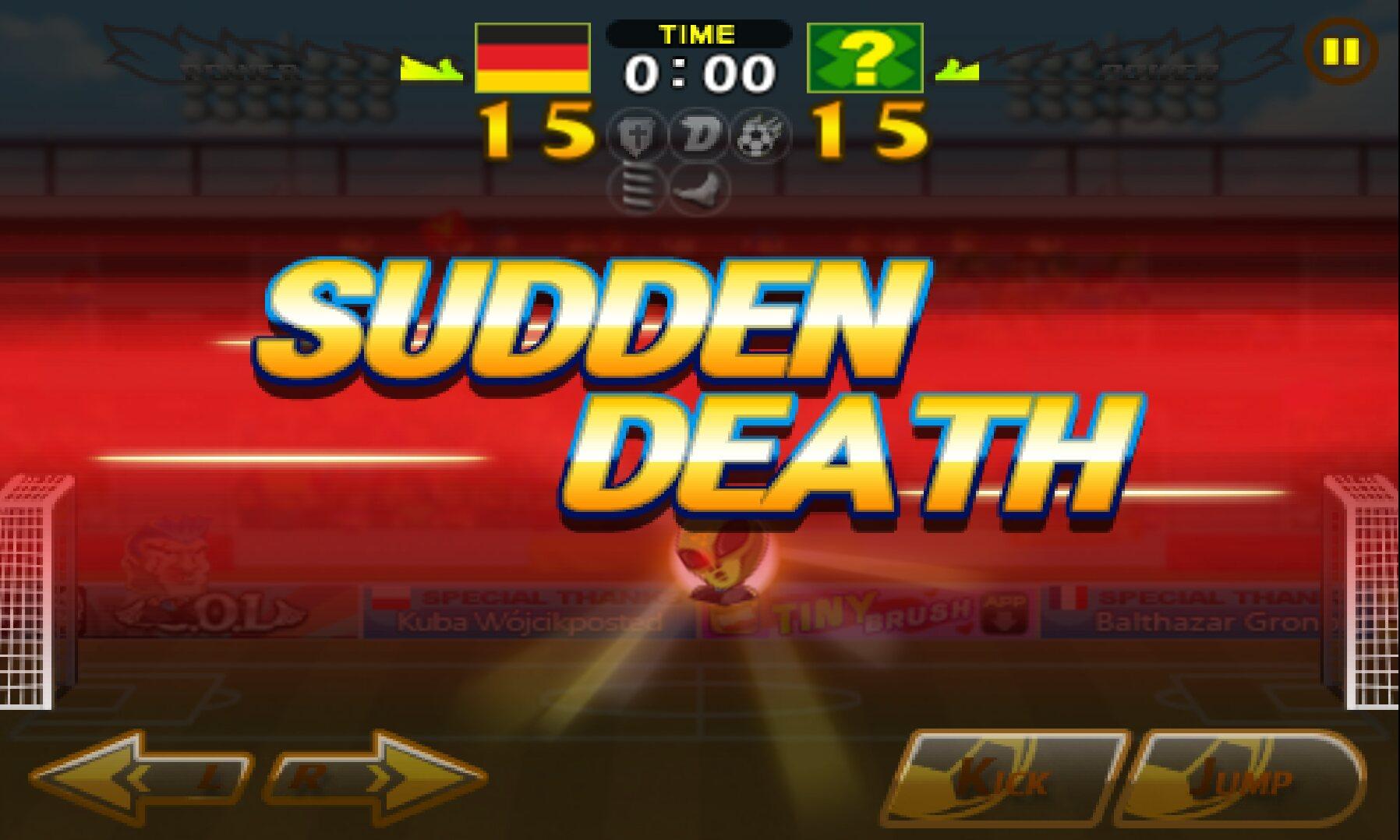 KRISTA: Sudden Death Games