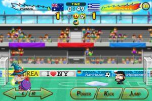 Australia VS Greece 3
