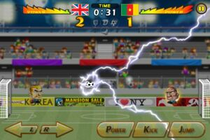 Cameroon VS United Kingdom 3