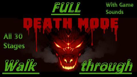 Death Mode FULL Walkthrough-1