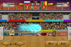 Russia VS Cameroon 2
