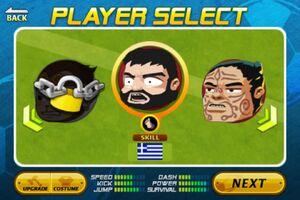Greece in Tournament