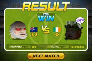 Australia beat Ireland