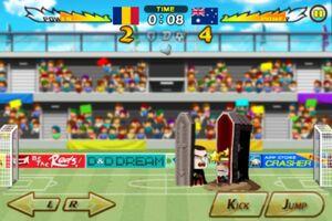 Romania VS Australia 2