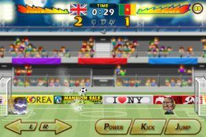 Cameroon VS United Kingdom 4
