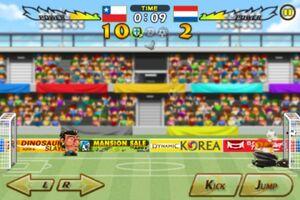 Chile VS Netherlands 7